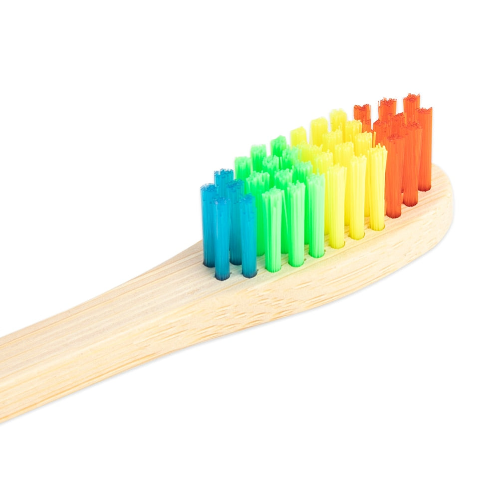 5 Eco-Friendly Bamboo Soft Fibre Toothbrush