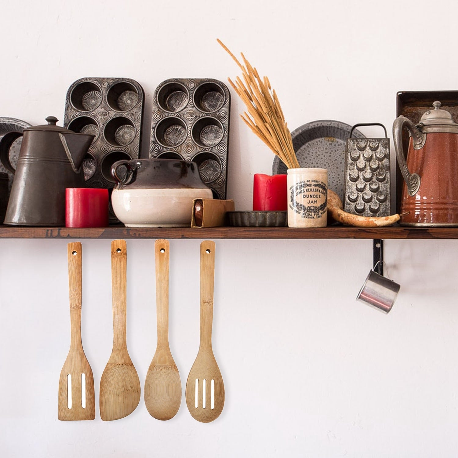 Bamboo Utensils Essentials Set