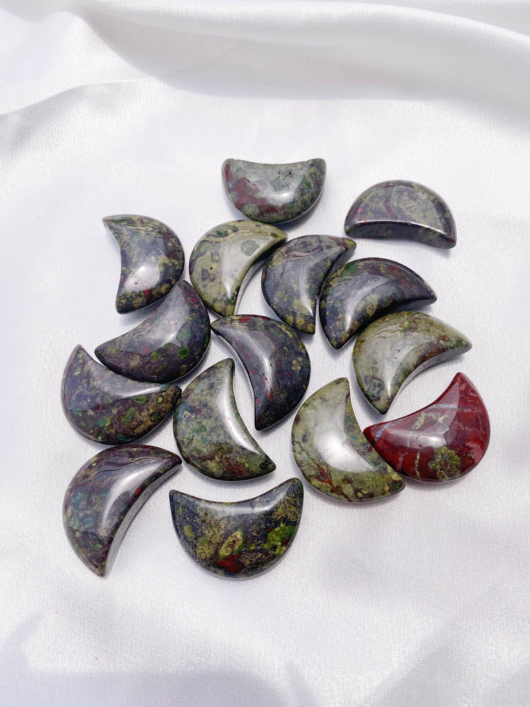 Dragon Blood Star and Moon - Caring Crystals