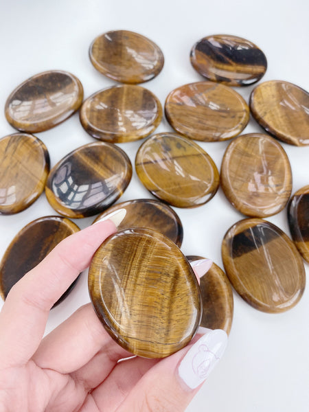 Tiger Eye Worrystone - Caring Crystals