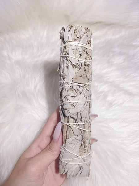 White Sage Smudge Stick - Caring Crystals