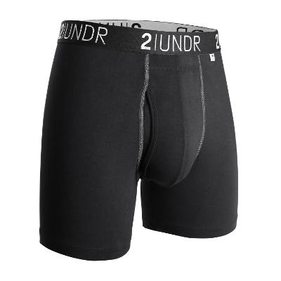 MENS BOXER BRIEF - BLACK