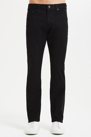 EVERETT SLIM STRAIGHT - TWILL - BLACK