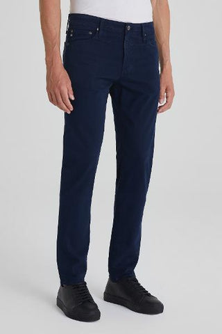 EVERETT SLIM STRAIGHT - TWILL - NAVY