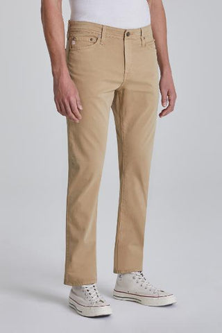 EVERETT SLIM STRAIGHT - TWILL - TAN