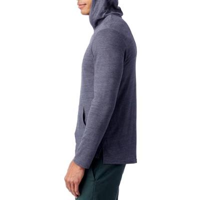 TEE SHIRT HOOD - ECO NAVY