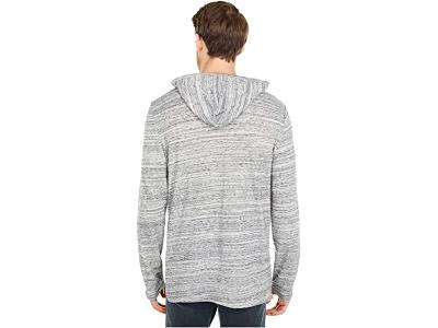 TEE SHIRT HOOD - GREY/BLACK