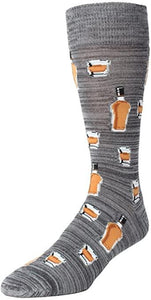 SOFT FUN SOCKS - BOURBON