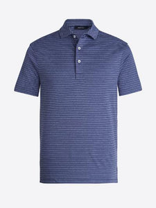 ONE HANDSOME STRIPE POLO - NAVY