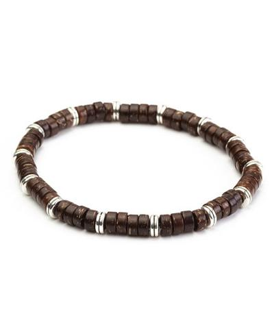 MENS BRACELET - BROWN