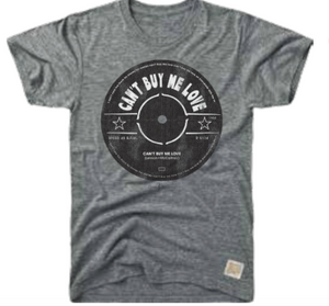 RETRO MUSIC TEE - CANT BUY ME LOVE