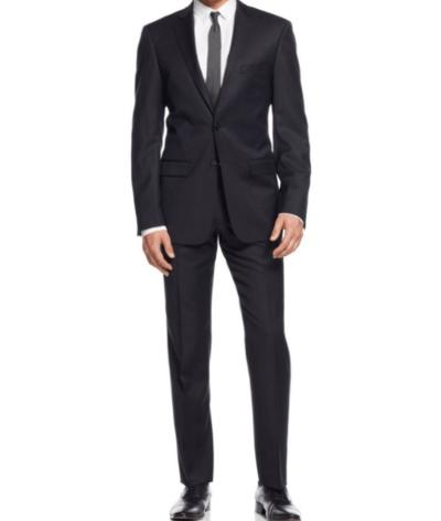CALVIN KLEIN X-FIT SUIT - BLACK