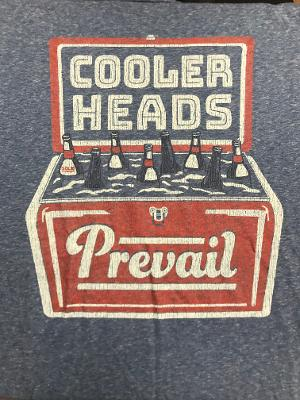 ONE COOL TEE - COOLER HEADS PREVAIL