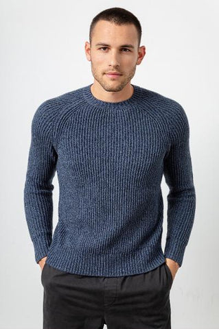ONE HANDSOME SWEATER - BLUE