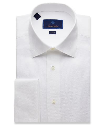 TRIM FIT TUX SHIRT 32/33 SLEEVE