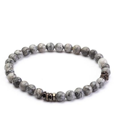 MENS BRACELET - EAGLE EYE GREY