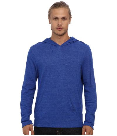 TEE SHIRT HOOD - ECO BLUE