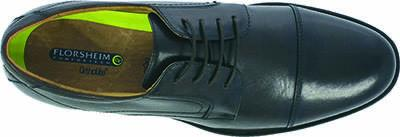 MENS MIDTOWN CAP TOE OXFORD - BLACK