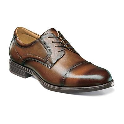 MENS MIDTOWN CAP TOE OXFORD - COGNAC