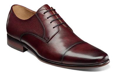 MENS POSTINO CAP TOE OXFORD - BURGUNDY