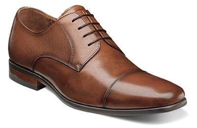MENS POSTINO CAP TOE OXFORD - COGNAC