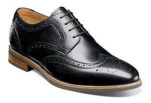 UPTOWN WINGTIP OXFORD - BLACK