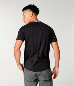SS SUPA SOFT NOTCH T - BLACK