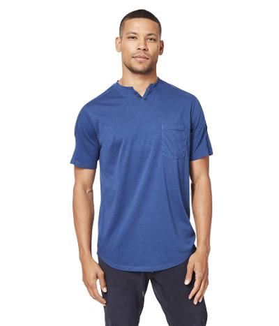 SS SUPA SOFT NOTCH T - BLUE
