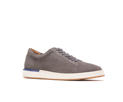HEATH SNEAKER - GREY SUEDE