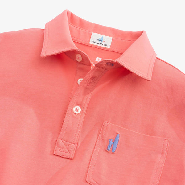 BOYS ORIGINAL POLO - CORAL