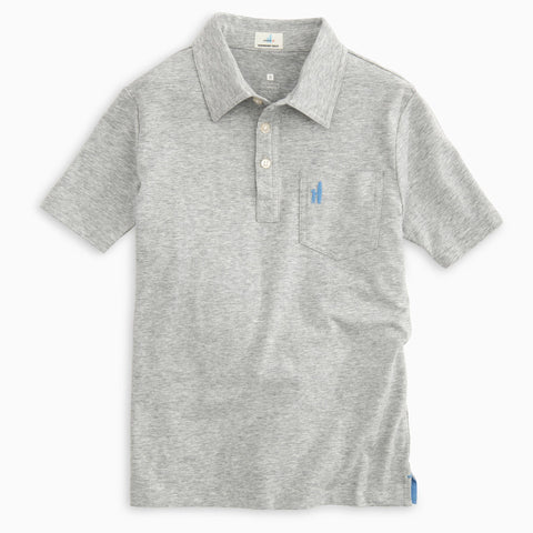 BOYS ORIGINAL POLO HEATHERED - GREY
