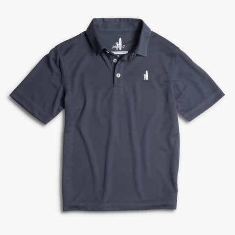 BOYS FAIRWAY POLO - MIDNIGHT