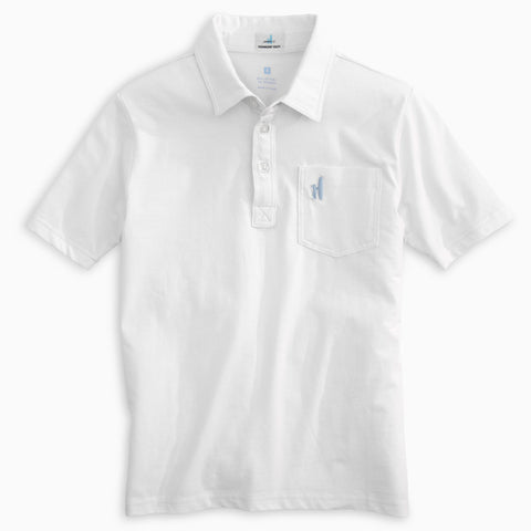 BOYS ORIGINAL POLO - WHITE