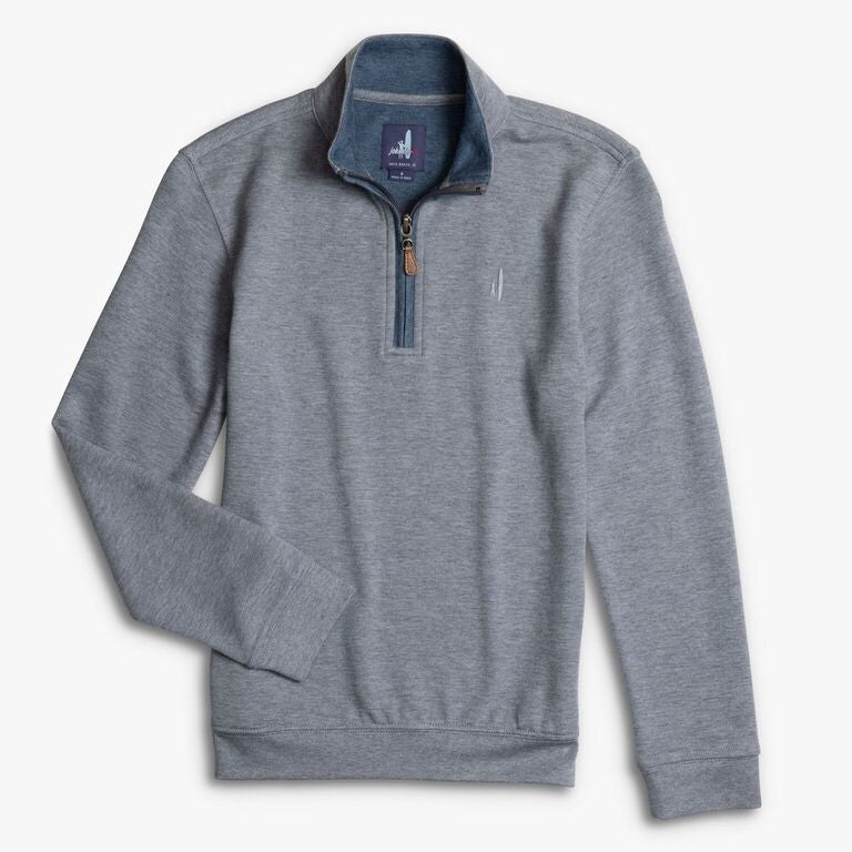 BOYS SULLY 1/4 ZIP - GREY
