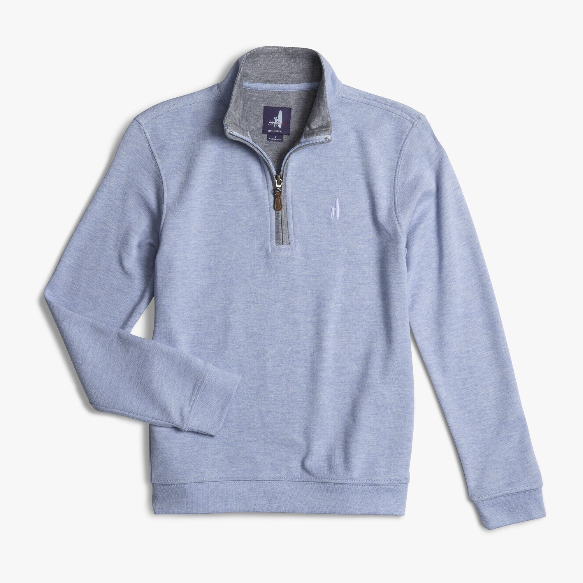 BOYS SULLY 1/4 ZIP - BLUE