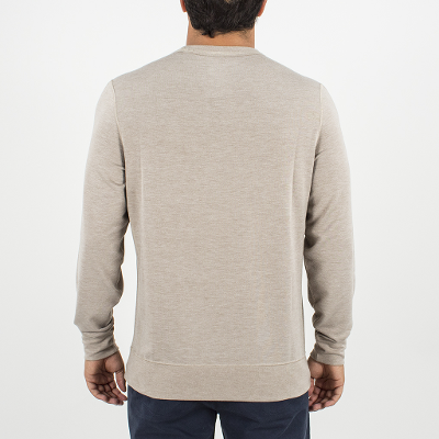 SEA SILK GROWLER LS CREW - KHAKI