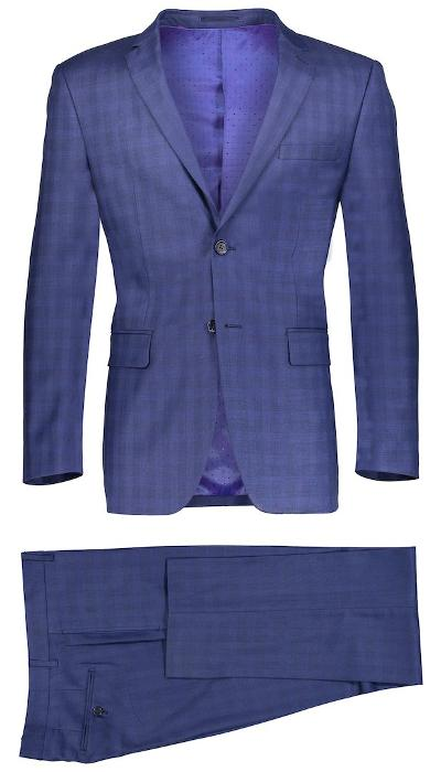 2 PIECE SLIM SHADY SUIT - NAVY