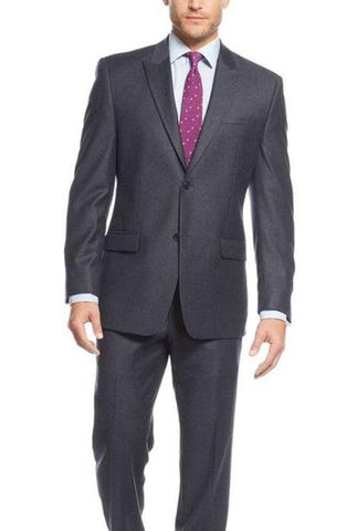 A MARC 2 PIECE CLASSIC FIT SUIT - GREY