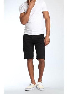 JACOB SLIM FIT STRETCH SHORT - BLACK