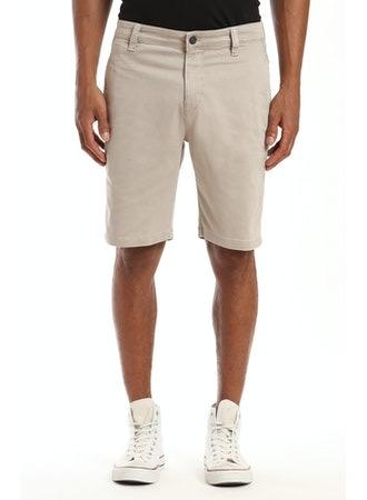 JACOB SLIM FIT STRETCH SHORT - STONE