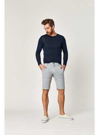 JACOB SLIM FIT STRETCH SHORT - GREY