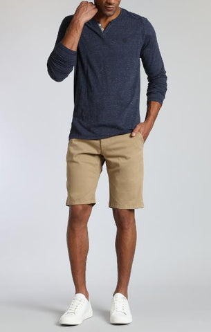 JACOB SLIM FIT STRETCH SHORT - KHAKI