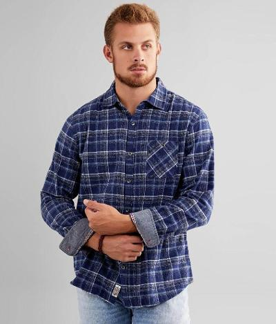 LAWD HAVE MERCER FLANNEL LS SOFTNESS - NAVY