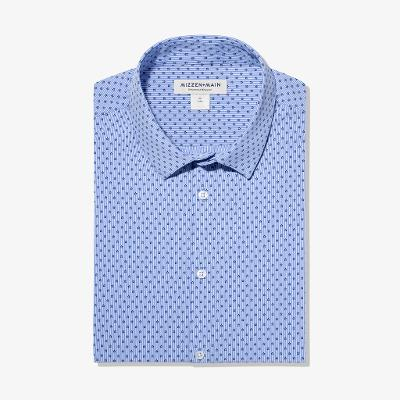 TRIM FIT LEEWARD PRINT BLUE