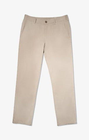 BARON SLIM FIT PERFORMANCE PANT - BEIGE