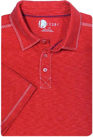 BUTTA SOFT POLO - RED