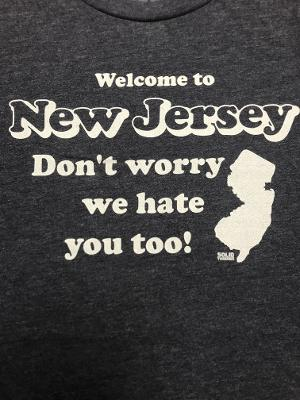 ONE COOL TEE - NJ NAVY