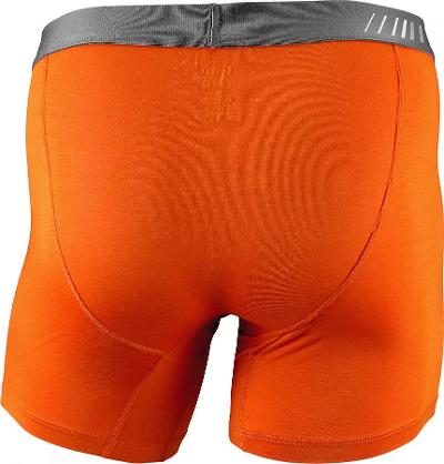 MENS BOXER BRIEF - ORANGE