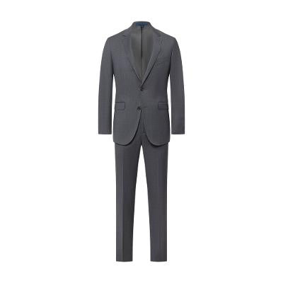 MODERN SLIM 100% WOOL SUIT - GREY