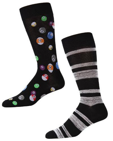 2 PAC CREW SOX - BILLIARDS